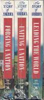 Reader's Digest - The Story Of America Vhs, 2001, 3-tape Set, Reader's Digest