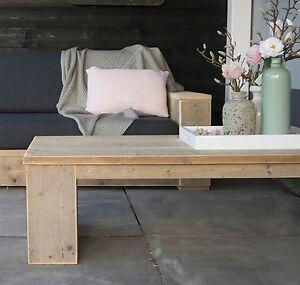 Bauholz Xxl Tisch Bauholz Tisch Fur Wohnzimmer Und Terrasse Ebay