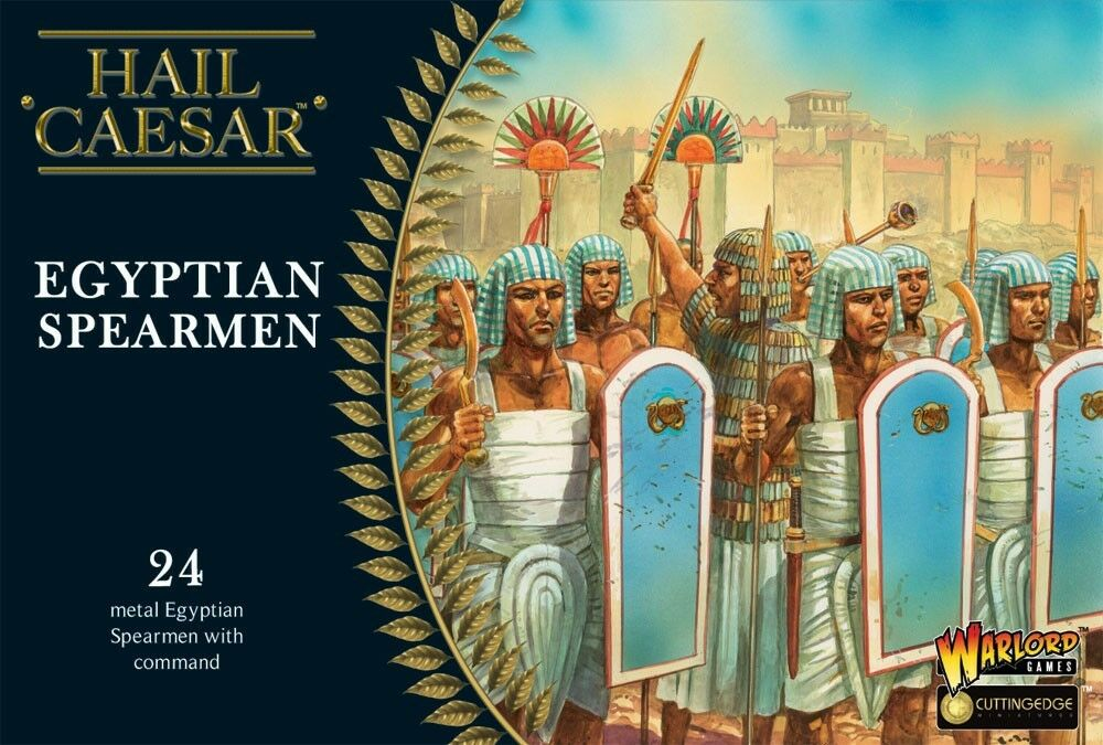 Warlord Games - Hail Hail Hail Caesar - Egyptian spearmen - 28mm 09834a