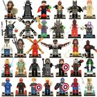32 PCS MiniFigure Super Hero Avengers Batman SpiderMan Iron Man Blocks Toys Gift
