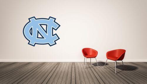 UNC Tar Heels NCAA Bedroom Wall Decal Vinyl