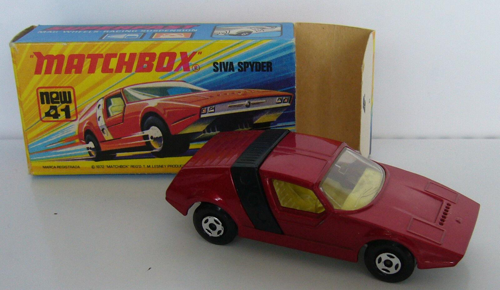 MATCHBOX-SUPERFAST-MB 41 Siva Spyder-Neuf dans sa boîte -