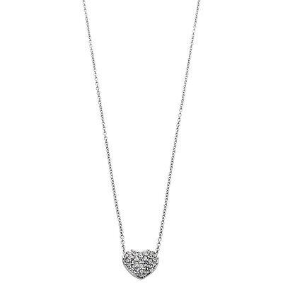 Swarovski Pave Crystal Heart Pendant 1809006