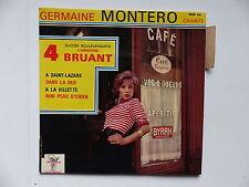 GERMAINE MONTERO Chante ARISTIDE BRUANT  A Saint Lazare .. 4526