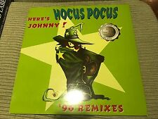 "HOCUS POCUS HERE'S JOHNNY 96 REMIXES 12"" MAXI CNR HOLLAND GABBER HAPPY HARDCORE"