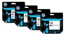 4 Testina di stampa SET HP Designjet T7100/Nr. 761 CH645A -CH648A Printhead Data
