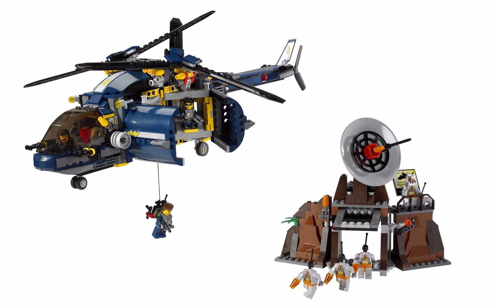 LEGO Agents 8971 Aerial Defense Unit 100% Complete w/ Manual & Minifigures