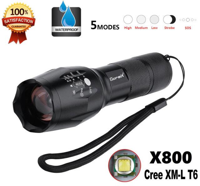 Cree La X800 Bright G700 Led Torche Tactique Poche Shadowhawk 6000lm Lampe De T6 b7Yf6gyv