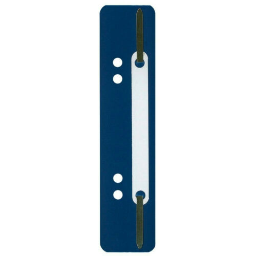 4-fach-Lochung dunkelblau 50 Stück Heftstreifen 15 x 3,4 cm Polypropylen PP