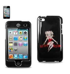 iPod-Touch-4th-Gen-HARD-PROTECTOR-CASE-COVER-RED-BLACK-BETTY-BOOP-HEART-LOVE