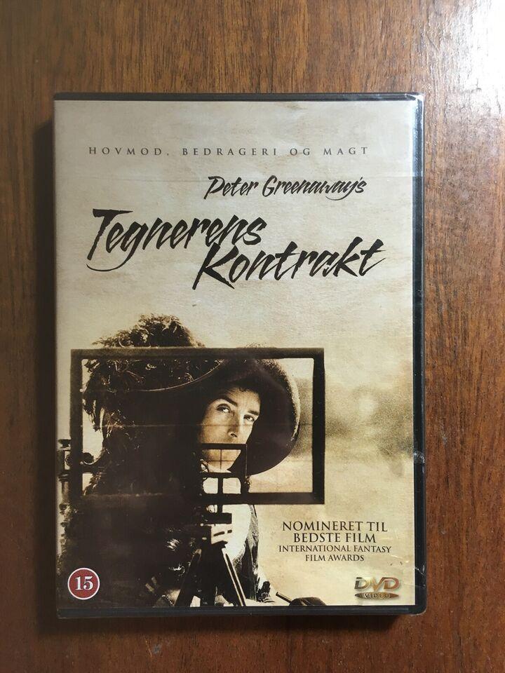 Tegnerens Kontrakt, instruktør Peter Greenaway, DVD