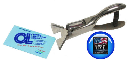 """1//4"""" Corner Rounder Punch Cutter Heavy Duty New American Made"""