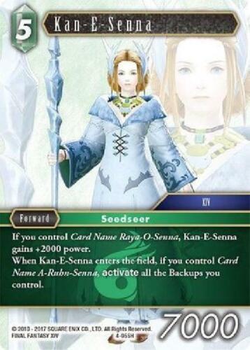 4-055H Hero Near Mint Final Fantasy TCG 8x Kan-E-Senna