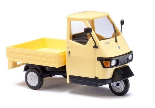 Busch 60003-1//43 Piaggio Ape 50 M-amarillo-nuevo