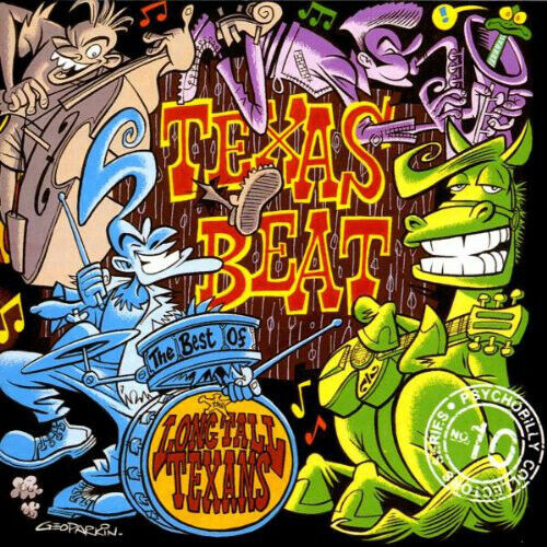 Long Tall Texans: Texas Beat (The Best Of) CD 1994 Anagram Nr Mint FREE UK POST
