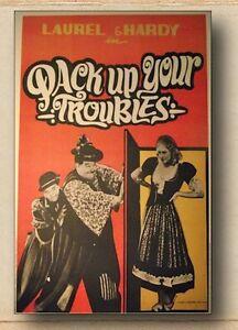 Poster-Stanlio-e-Ollio-Il-compagno-B-Ristampa-da-collezione