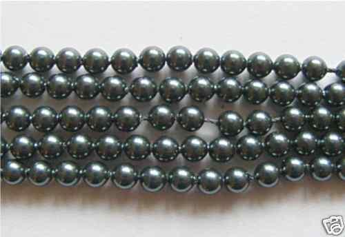 Tahitian Pearl 20 Genuine Swarovski Glass Pearl Beads 4mm