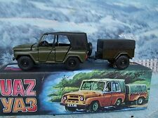 1/43 Tantal (Russia)  UAZ  469 with trailer