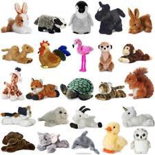 Soft Toy Teddy Plush 20cm Animal Farm Chimp Squirrel Fox Owl Mini Flopsie Aurora
