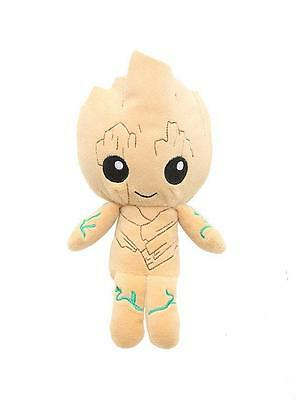 """MARVEL GotG Guardians Of The Galaxy 2 Licensed 8"""" Baby GROOT Hero Plush Toy"""