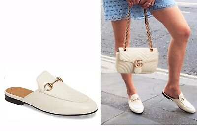 GUCCI PRINCETOWN MULE LOAFER MYSTIC