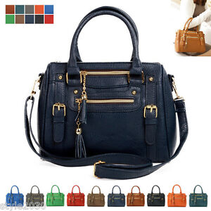 NEW Women Ladies Shoulder Bag Tote Satchel Hobo CrossBody Handbag ...