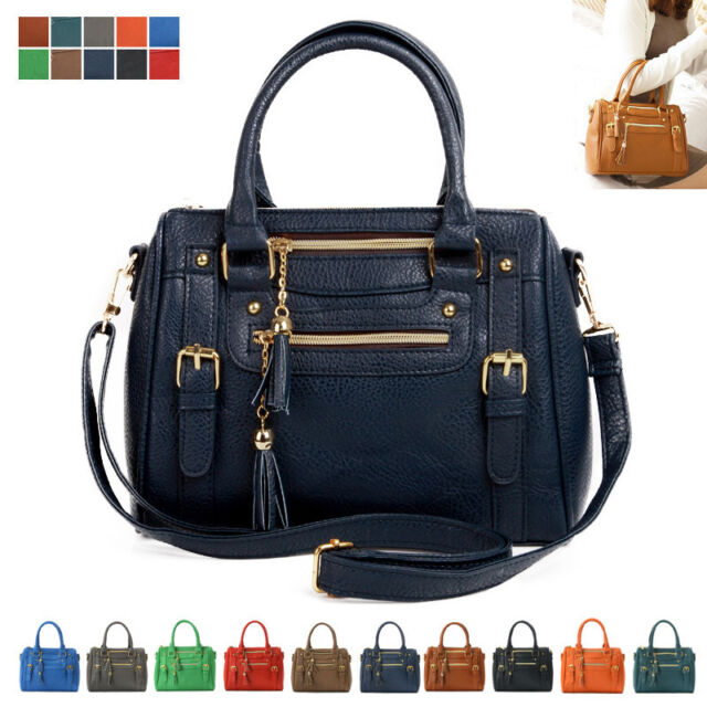 Women Lady Leather Shoulder Bag Tote Purse Handbag Messenger Crossbody Satchel