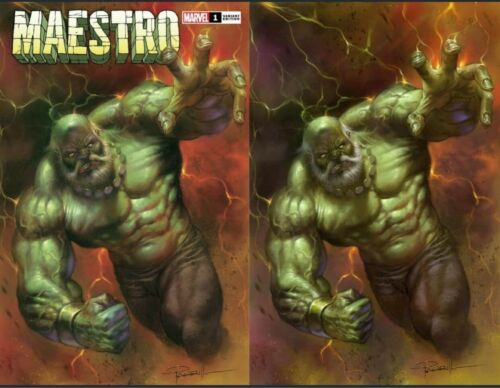 Pre-sale Aug Release Story Waited For MAESTRO 1 By Lucio Parrillo Trade//Virgin