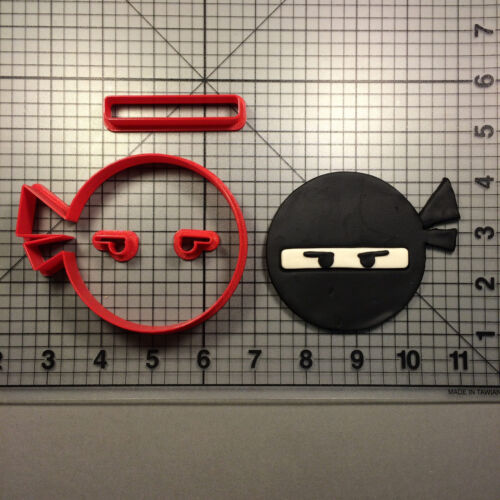 Ninja Face 100 Cookie Cutter Set