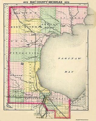 Walling 1873-23 x 30 Lapeer County Michigan