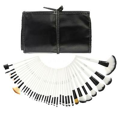 36PCS White Make up Brushes Set Cosmetic Brushes Makeup Tools Pouch Bag Case