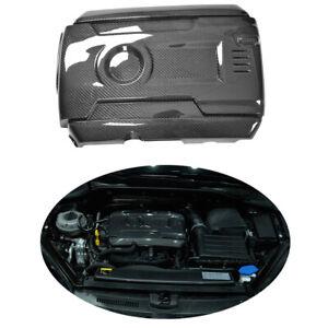 Carbon-Motorabdeckung-Abdeckung-fuer-VW-Golf7-VII-GTI-R-14-17Engine-Cover