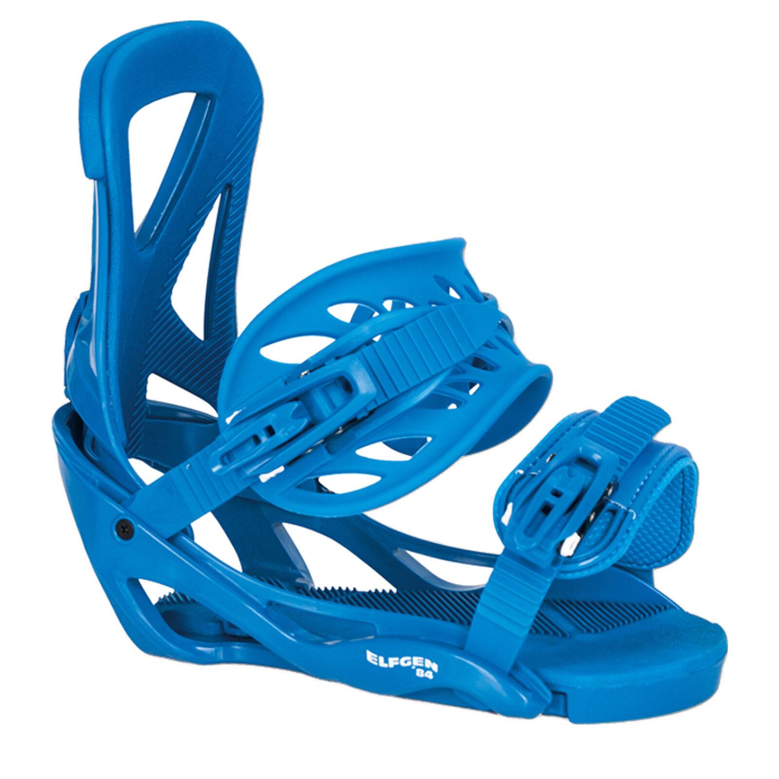 Elfgen Snowboard Softbota Fijación Team azul  Talla M 38-42 Eu