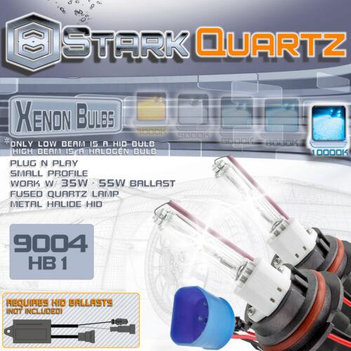 9004 Replacement Pair 10000K 35W 55W Xenon HID Bulbs High Low Beam Head Light
