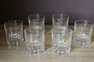 6x-Glas-Whisky-Whiskey-Glaeser-Bleikristall-geschliffen-Bar-Theke-Cocktail-VP20-3