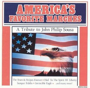 FREE-US-SHIP-on-ANY-3-CDs-Used-Good-CD-Various-America-039-s-Favorite-Marches