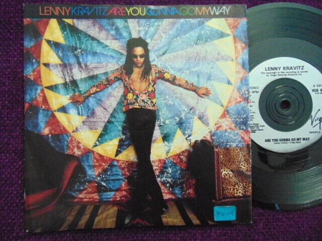 "LENNY KRAVITZ  "" Are You Gonna Go My Way""  7"" Vinyl VIRGIN  VUS65"
