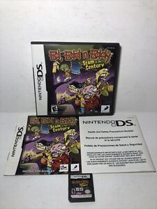 Ed, Edd N Eddy Scam Of The Century Nintendo DS Complete CIB Tested Authentic