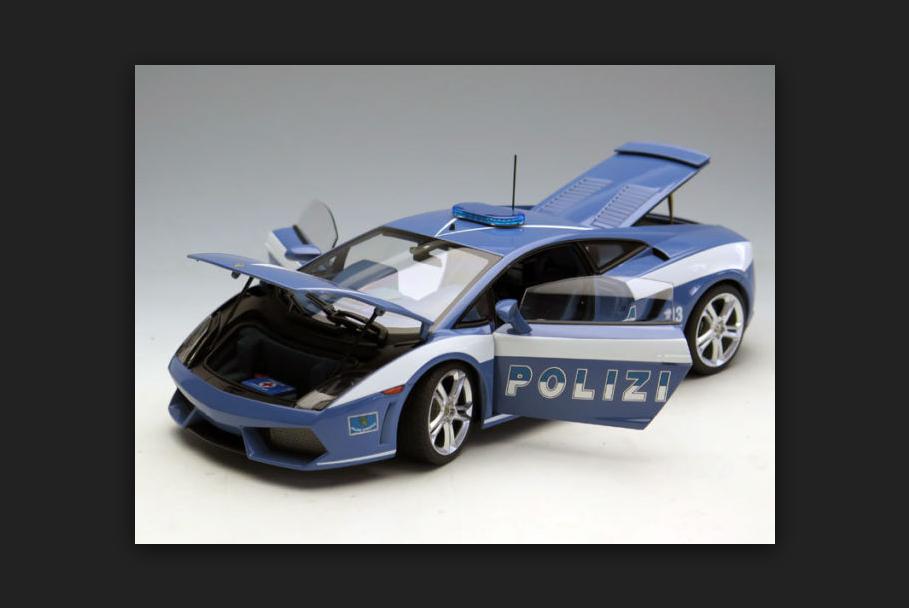 protezione post-vendita Lamborghini Gtuttiardo Gtuttiardo Gtuttiardo LP560-4 polizia auto 74599  1 18 AutoArt  prezzi bassi di tutti i giorni