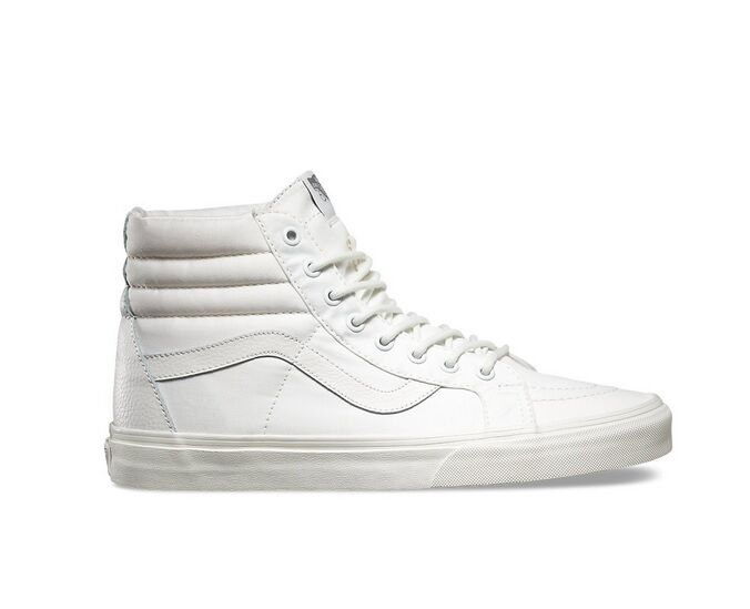 Vans SK8 Hi Mono TL Reissue  All White  clearance