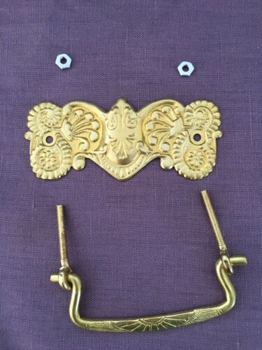 "ANTIQUE STYLE VICTORIAN DRAWER PULLS FURNITURE PULL 3/"" CC AAB Co #P3"