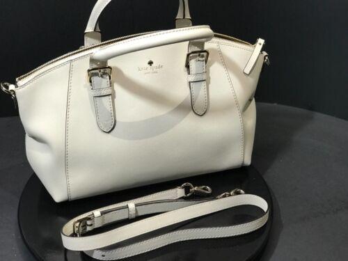 Neue Leder Satchel Dixon Tasche Spade Kate Jackson 328 Msrp Geldbeutelcreme Street wUXgwqr4S