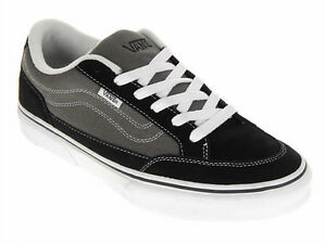 28ae6f666b Vans BEARCAT - Mens Skate Shoes (NEW) Sizes 7-13 BLACK   CHARCOAL ...