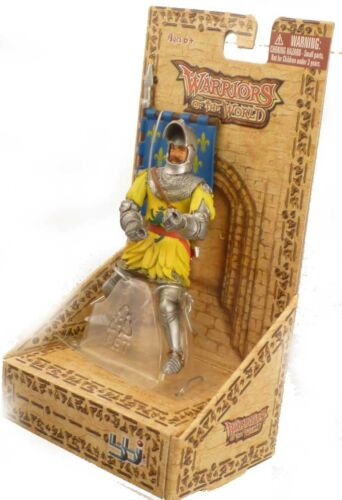 Energy Toys bbi Medieval France Soldier w// flag 1//16 figure