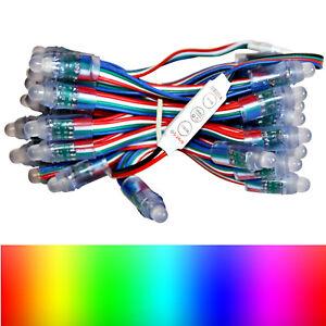 50x Pixels DEL RGB chaîne Dump pixels 5 V EEK A à Bon état + Noël (5-56 EUR-M)-afficher le titre d`origine uDLbx1AF-07212857-791007668