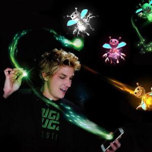 2Pcs Magic LED Bee Lights 3D Hologram Projection Finger Trick Prop Creative Toys