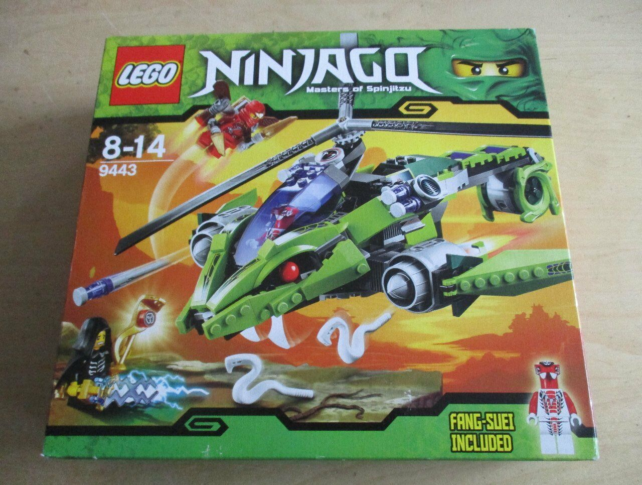 Lego 9443 NINJAGO RATTLECOPTER RATTLECOPTER RATTLECOPTER  BA  neuf dans sa boîte 65628f