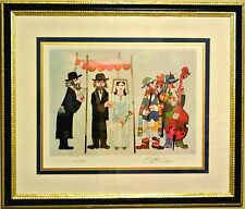 Jovan Obican-The Huppah-Ltd Ed Lithograph, Numbered+Hand Signed+ Framed #351/600