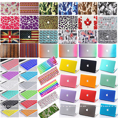 2PC(Top+Bottom)Laptop Hard Shell Case Cover Keypad Skin for Mac Macbook Book Acc