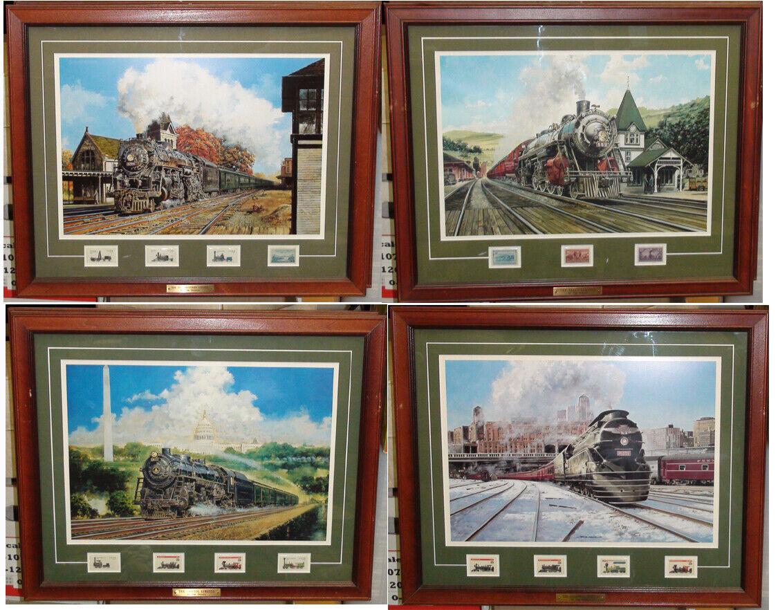 Conjunto de la Sociedad Postal Conmemorativa Jim Deneen Coleccionables del ferroCocheril Sellos & Impresiones